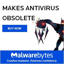Feedswatcher.com recommends Malwarebytes Premium