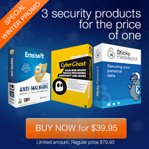 Three security products for the price of one!
