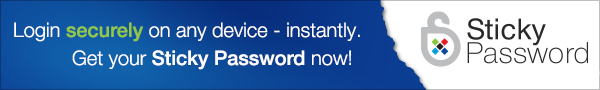 Sticky Password - 2 Users, 1-year License