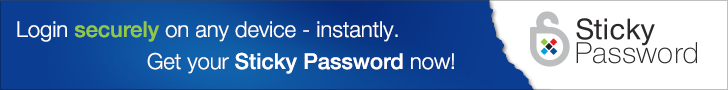 Sticky Password - 2 Users, 1-year License | Lamantine Software