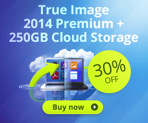 <strong>Acronis True Image 2014 Premium with 250GB Cloud</strong>
