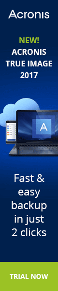 Acronis True Image 2017 has just been released