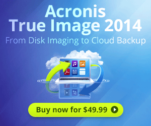 <strong>True Image 2014 for $39.99 with Laplink PC Mover</strong>