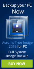 Backup you PC with a full system image backup, use Acronis True Image 2015