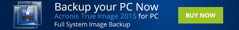 Backup your PC now with Acronis True Image